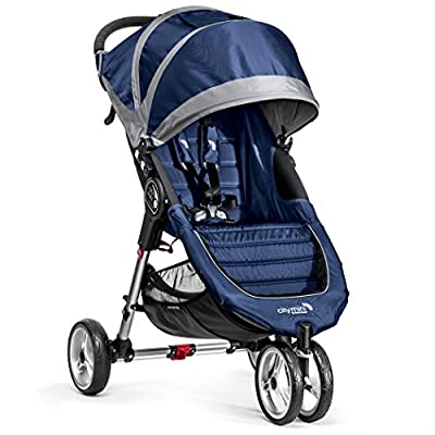 Baby Jogger City Mini 3 - Cochecito urbano, color azul y gris