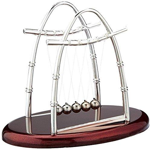 Vukub newton culla equilibrio palle fisica pendolo scienza scrivania ufficio classico giocattolo 26,5 * 22,5 centimetri
