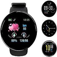Smartwatch Orologio Fitness Tracker Uomo Donna, 1,3 Pollici Bluetooth Smart Watch Cardiofrequenzimetro da Pols