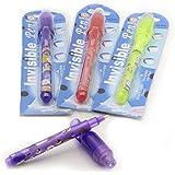 Abdus Invisible Secret Message Gag/Prank Toy Magic Pen - Pack of 3