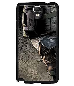 PrintVisa Designer Back Case Cover for Samsung Galaxy Note 3 Neo :: Samsung Galaxy Note 3 Neo Duos :: Samsung Galaxy Note 3 Neo 3G N750 :: Samsung Galaxy Note 3 Neo Lte+ N7505 :: Samsung Galaxy Note 3 Neo Dual Sim N7502 (Uniform Helmet Googles Safety Graphic )