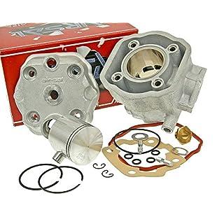 AIRSAL 70ccm M-Racing Zylinder Kit für Derbi GPR 50 R, Senda 50, Gilera RCR Enduro 50, SMT SM 50 EBS