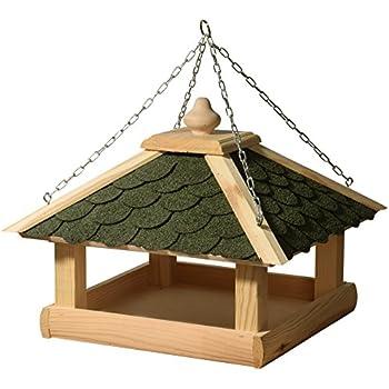 dobar 44256e klassisches vogelhaus aus holz kiefer f r. Black Bedroom Furniture Sets. Home Design Ideas