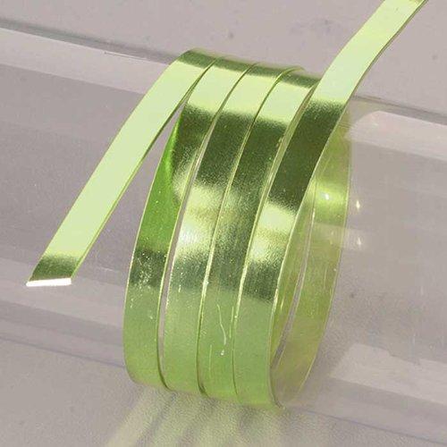 Efco 1x 5mm x 2m filo piatto in alluminio anodizzato, colore: Blu/Nero limone