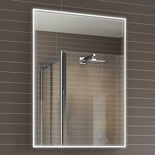 500 x 700 mm designer illuminated led bathroom mirror light sensor 500 x 700 mm designer illuminated led bathroom mirror light sensor demister ml4001 aloadofball Image collections