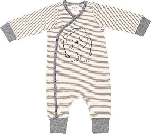 People Wear Organic Bio-Schlafanzug Natur/braun Größe 74/80