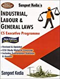 Sangeet Kedia's Industrial, Labour & General Laws (ILGL) with MCQs for CS Executive Dec. 2017 Exam by Pooja Law Publishing Co.