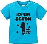 EZYshirt® Ich bin schon ein und n halbes Jahr Baby T-Shirt