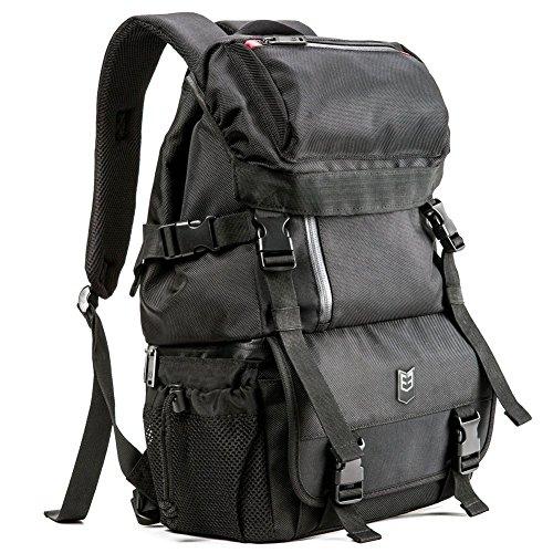 Evecase 885157948210Rucksack schwarz Schutzhülle und Housse D Kameras–Etuis und Bezüge Kameras (Rucksack, Nikon, Schwarz)