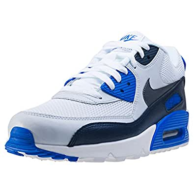 Baskets Max Nike 421 Blanc 90 Essential Noir 537384 Air Bleu cF1lKJ