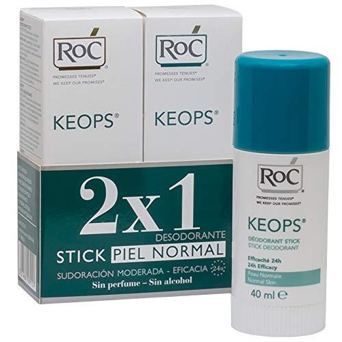 ROC KEOPS - Desodorante Stick Duplo