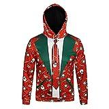 Challeng-Jacken Hoodie Herren Schwarz Baumwolle,Weihnachten Herren Hoodie,schwarzer Kapuzenpullover Herren