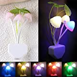 TRENDINAO TRENDINAO Sensor LED Mushroom Night Romantic Colorful Warm Light Nightlight Best for PartyBaby or Adults Bedroom