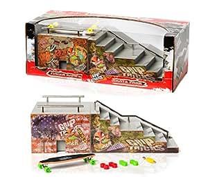 grip tricks rampe f r finger skate funbox stairs. Black Bedroom Furniture Sets. Home Design Ideas