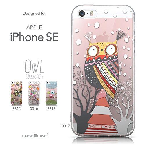 CASEiLIKE Art Mandala 2090 Housse Étui UltraSlim Bumper et Back for Apple iPhone SE +Protecteur d'écran+Stylets rétractables (couleur aléatoire) 3317