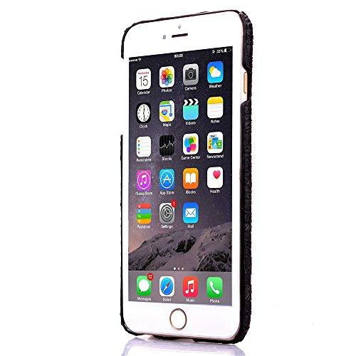 iPhone 6Cas, de haute qualité de luxe mignon coloré confortable Etui Housse pour Iphone 6Coque 11,9cm noir