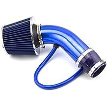 DAXGD Universal Filtro de admisión de aire frío Tubo de Inducción Alumimum Azul