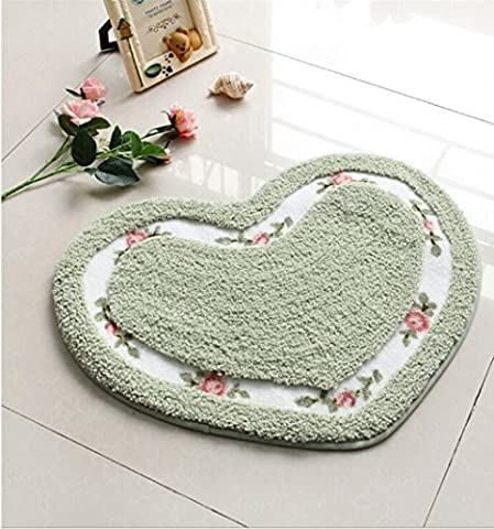 SANNIX 50*60cm Rose Flower Shaggy Area Rugs Soft Nice Doormat