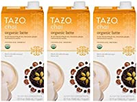 Tazo Chai Organic Tea Latte Concentrate 32-ounce Boxes Pack of 3
