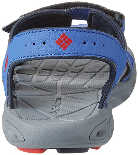 Columbia Youth Techsun Vent, Scarpe da Arrampicata Bambino Blu (Stormy Blue/Mountain Red 426)