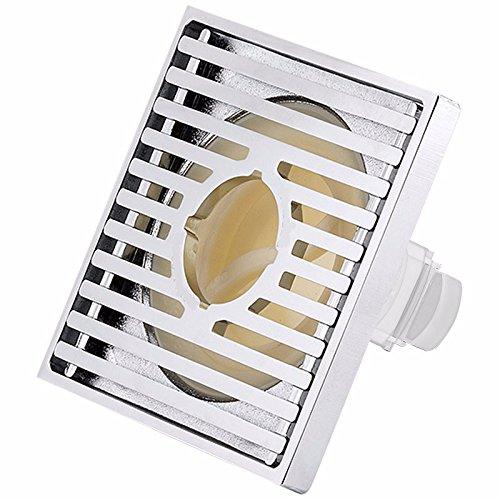 Khskx-washing machine Ultra Shift Laiton chromé de salle de bain douche universel automatique Bain/vers la machine 10*10 cm