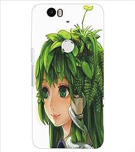 HUAWEI NEXUS 6P BEAUTIFUL GIRL Designer Back Cover Case By PRINTSWAG