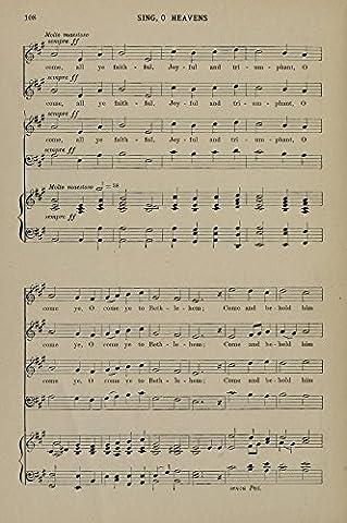 Sing O Heavens 11 Berthold Tours Christmas Carols & Hymns