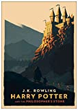 Black Creations Harry Potter 40 Affiche de Film Movie Poster Photo sur Toile Art Premium Qualité A0 A1 A2 A3 A4 (A4 Affiche (21/30cm))