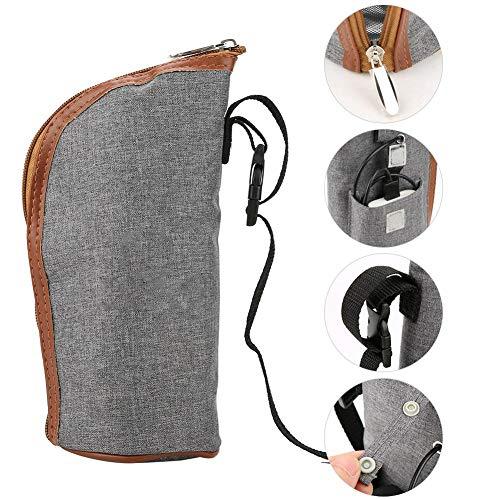 Sac De Chauffe-biberons, Boisson Portable et USB Contrôle intelligent de la température Sac de Chauffe-biberons, Idéal pour les Voyages en Voiture et les Achats