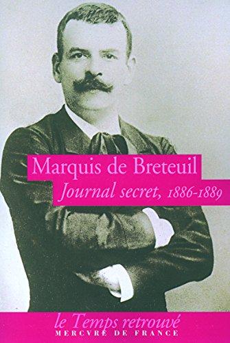 Journal secret: (1886-1889)