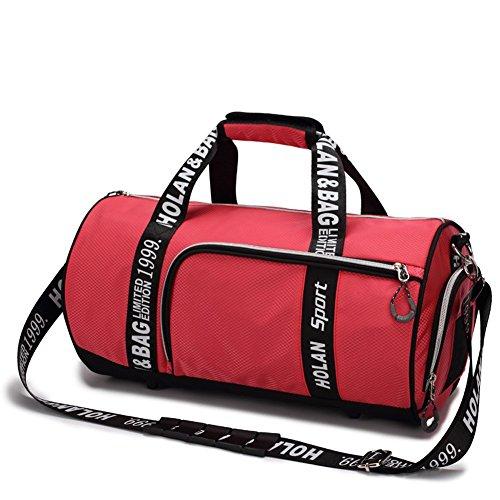 Outdoor peak Herren damen Nylon Sporttasche Trommel-tasche Tagetasche Fitness Schulter Handtasche Kuriertaschen Freizeit Reisetasche (Farbe 2) Farbe 5