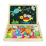fajiabao lavagnetta magnetica disegno giocattoli di legno gioco educativo puzzle per bambini 3 anni