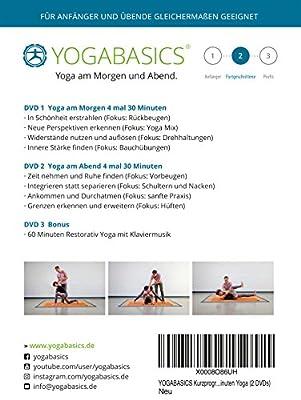 YOGABASICS: 8 mal 30 Minuten Yoga für alle (3 DVDs) Indien Reise Ed.