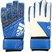 Adidas Ace Competition - Guantes de Portero para Hombre, Azul (Blue/Core Black/White/Shock Pink s16), 10.5