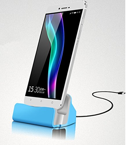 Theoutlettablet® Dock Cargador/Sincronización para Smartphone Vernee Apollo lite con conexión Type-C - Charger