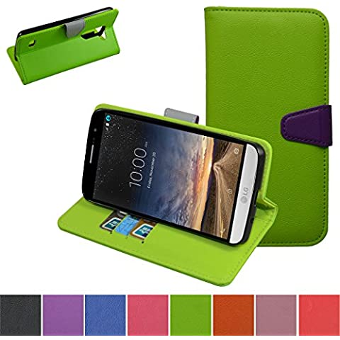 LG RAY Funda,Mama Mouth PU Cuero Billetera Cartera Monedero Con Soporte Funda Caso Case para LG RAY X190