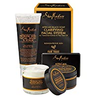 Sheamoisture African Black Soap Clarifying Facial System Kit