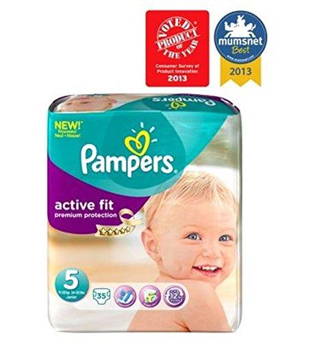 Pampers Active Fit Windeln Größe 5 Essential Pack - 35 Windeln.