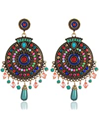 a7ed56639 Shining Diva Fashion Jewellery Fancy Party Wear Earrings (Multicolor)