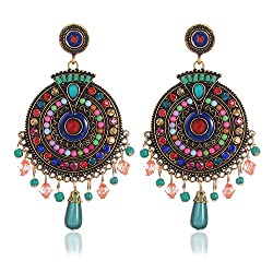 Latest Earrings - Shining Diva Fashion Jewellery presents these Stylish Earrings suitable for party wear. A designer pair of stylish Earings for Girls that will make you feel like a Diva. The color complements all outfits & may be worn as a state...