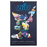 Disney Parcs Attraction Poster Calendrier–2017