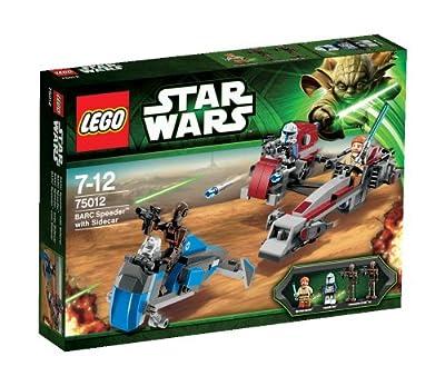 LEGO Star Wars - BARC Speeder con sidecar de LEGO