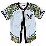 XiYang Hip-Hop 3D Herren Hemd - Urban Baseball Jersey Golden Medusa Y1724-76-XXL-XY