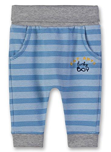 Sanetta Sanetta Baby-Jungen Jogginghose Jogging Pants, Blau (Blue Sea 50206.0), 56