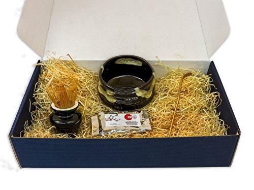 Japan Matcha Geschenkset Professional - das Matcha-Set für Fortgeschrittene für die professionelle Matcha-Zubereitung. Vegan. 100% ohne Zusätze. Laktose- & Glutenfrei.