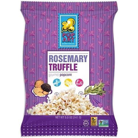 Pop Art snack - glutine gratuiti Gourmet Popcorn rosmarino tartufo - 4 oz.