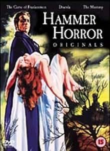 Hammer Horror Originals: The Curse of Frankenstein / Dracula / The Mummy  [DVD] [1959]