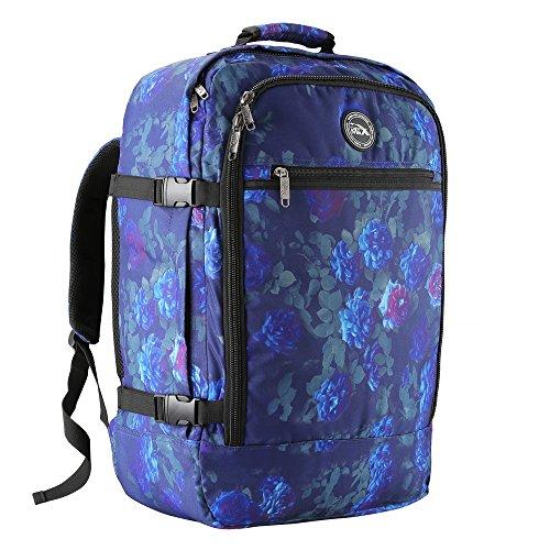 Cabin Max - Sac à dos et bagage à mains pour cabine- capacité brute de 44l… (Rose bleue)
