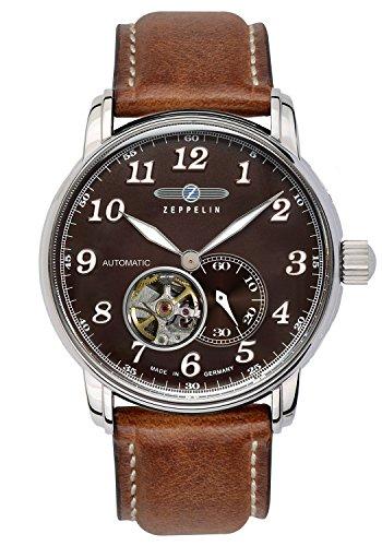 Zeppelin Mens Automatic Watch LZ127 GRAF Zeppelin 7666-4
