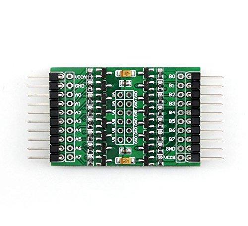 CQRobot Logic Level Converter (1.8V to 6V), 8 Channels Bidirectional Voltage Translation Between Different Logic Level, Translate Between AX And BX Automatically.